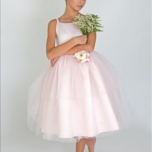US Angels pink tulle ballerina dress